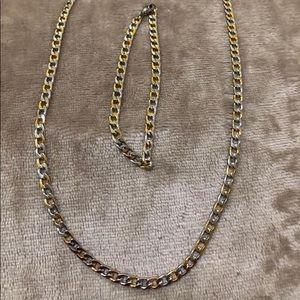 Other - Stainless steel jewelry set 14k gold plated